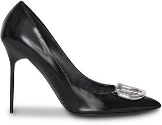 Burberry The Patent Leather D-ring Stiletto