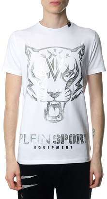 Philipp Plein Edberg White And Silver T-shirt