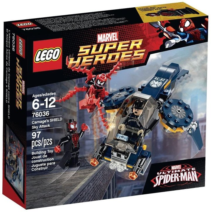 LEGO Super Heroes Carnage's SHIELD Sky Attack - 76036