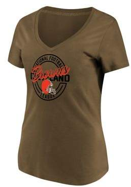 Majestic Cleveland Browns NFL Break Free Cotton Jersey Tee