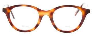 Celine Tortoiseshell Round Eyeglasses w/ Tags