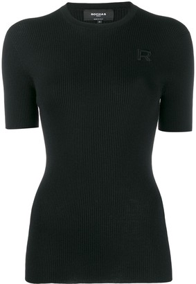 Rochas knitted round neck top