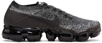 Nike Black and White Air VaporMax Running Sneakers