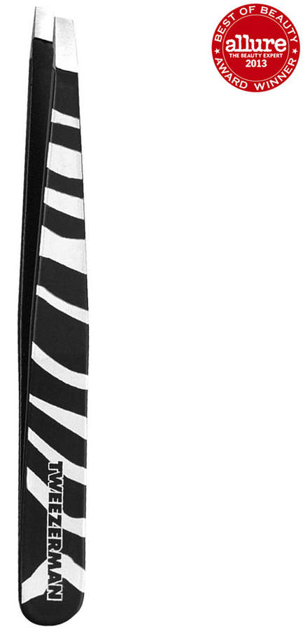 Tweezerman Animal Print Slant Tweezer - Zebra