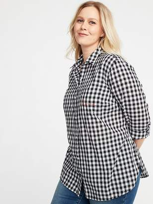 Old Navy Classic No-Peek Plus-Size Shirt