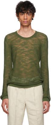 Jacquemus Green La Maille Elie Sweater