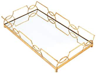 Twos Company Luxembourg Mirrored Tray