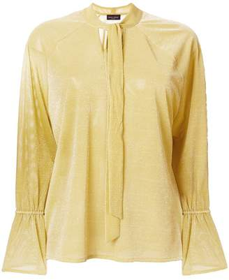 Roberto Collina neck-tied shift blouse