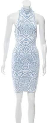 Torn By Ronny Kobo Knit Mini Dress