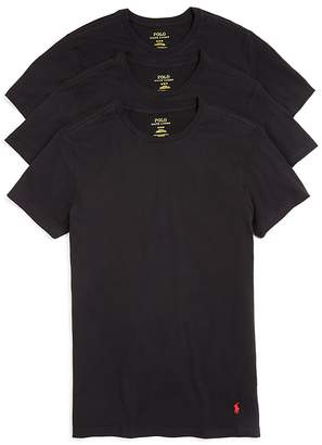 Polo Ralph Lauren Slim Fit Jersey Tee, Pack of 3 $39.50 thestylecure.com