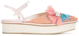 DELPOZO platform sandals