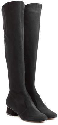 L'Autre Chose Knee High Suede Boots