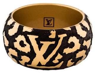 Louis Vuitton Wide Leomonogram Bracelet