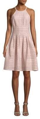 Eliza J Pleated Mini Dress