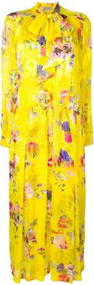 Preen by Thornton Bregazzi Lupin floral flared dress