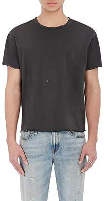 R 13 Men's Destroyed Pima Cotton T-Shirt