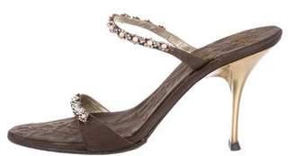 Vicini Satin Slide Sandals