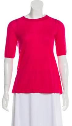 Isabel Marant Cashmere Short Sleeve Sweater