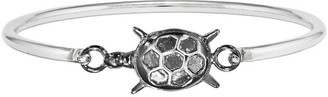 Sterling Interchangeable Nautical Charms Bangle