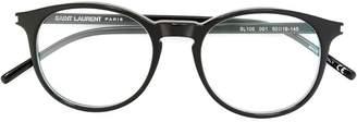 Saint Laurent Eyewear round frame glasses