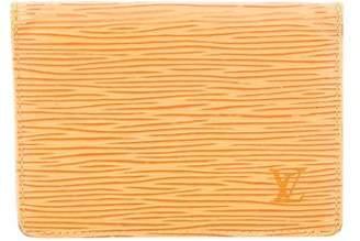 Louis Vuitton Epi ID Holder