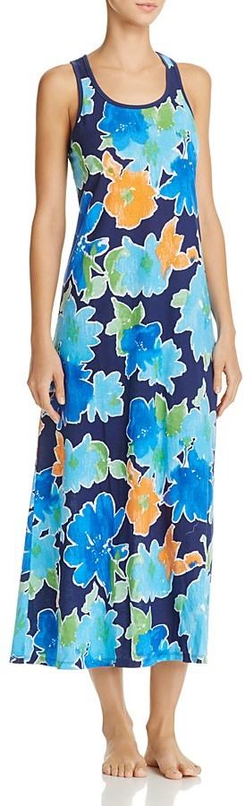Lauren Ralph Lauren Lauren Ralph Lauren Floral Print Nightgown