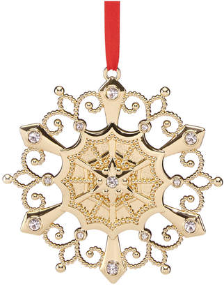 Lenox Colors Of Gold Yellow Gold Circle Ornament