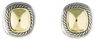 David Yurman Two-Tone Albion Ear Clip Earrings