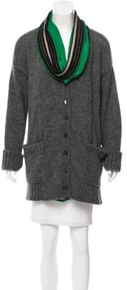 Jean Paul Gaultier Embellished Oversize Sweater $145 thestylecure.com