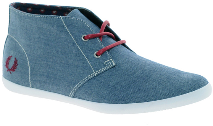 Fred Perry Roots Chambray Ankle Boots