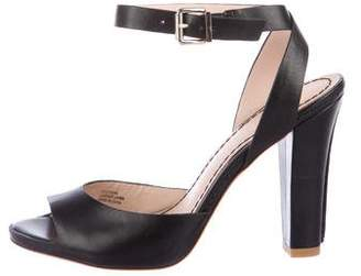 Pour La Victoire Leather Strap Sandals