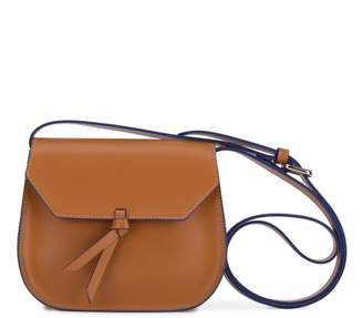 Alexandra de Curtis Jolie Mini Saddle Cognac