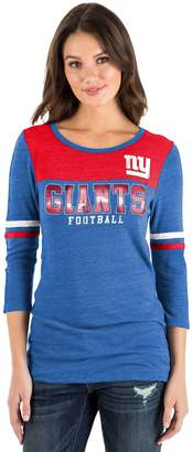 New Era Women's New York Giants Varsity Tee