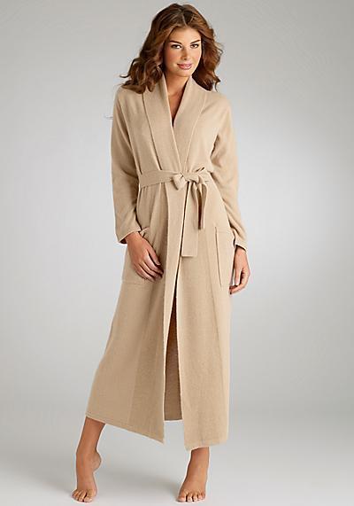 Arlotta Cashmere Robe Sleepwear
