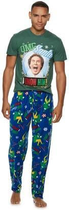 "Men's Buddy the Elf ""OMG Santa I Know Him!"" Tee & Lounge Pants Set"