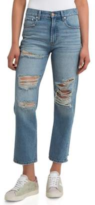 Jordache Heather Straight Leg Jeans