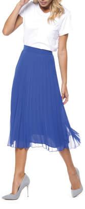 Dex Royal Pleated Skirt