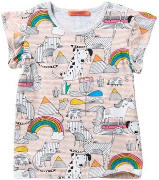 Funkyberry Dog & Cat Top (Baby, Toddler, & Little Girls)