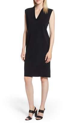 Ming Wang Knit Shift Dress