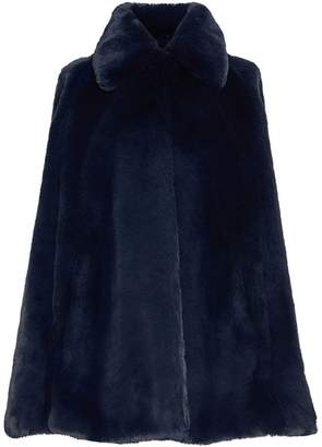 Burberry Faux Fur Cape