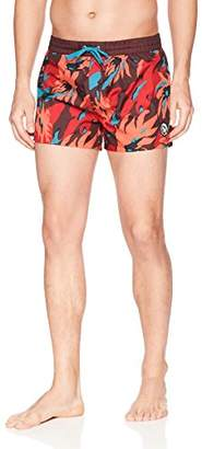 Diesel Men's Sandy Camo Printed 12 inch Swim Short