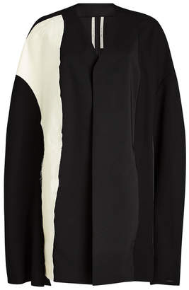 Rick Owens Cape Jacket with Wool