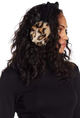 Kate Spade Faux Fur Leopard Earmuffs