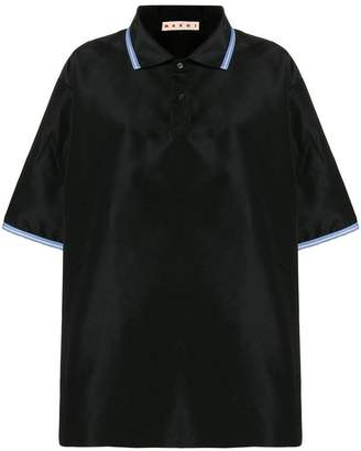Marni oversized polo top