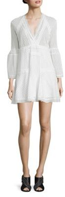 IRO Gwen Bell Sleeve Dress $460 thestylecure.com