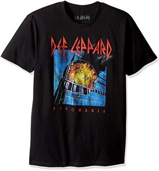 Goodie Two Sleeves Men's Def Leppard Pyromani Adult T-Shirt