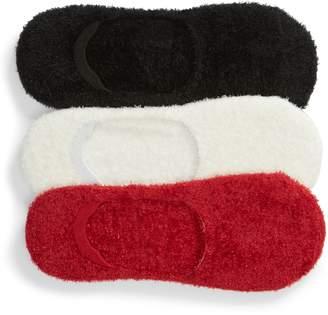 Hue 3-Pack Feathery Liner Socks