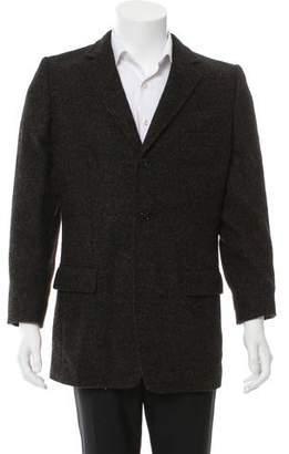 Dolce & Gabbana Alpaca Notch-Lapel Jacket