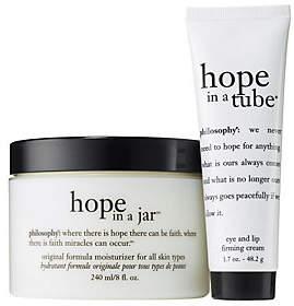 philosophy Mega Size Hope In A Jar Moisturizer& Eye Cream Duo