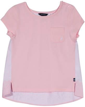 Nautica High-Low T-Shirt